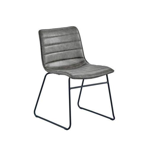 Gastronomie Stuhl RETRO mit Metallfüßen - 1
