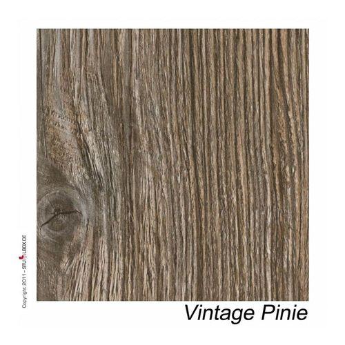 Tischplatte Vintage Pinie - alt - 1