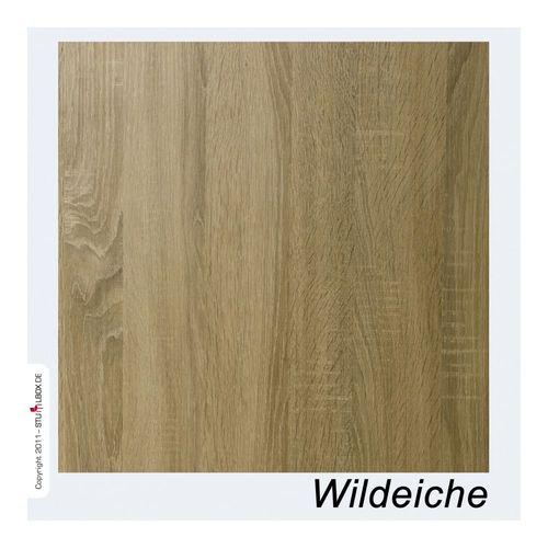 Tischplatte Melamin Wildeiche - 1
