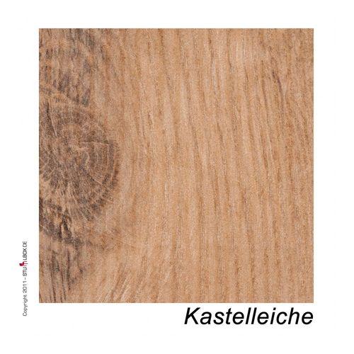 Tischplatte Melamin Kastelleiche - 1