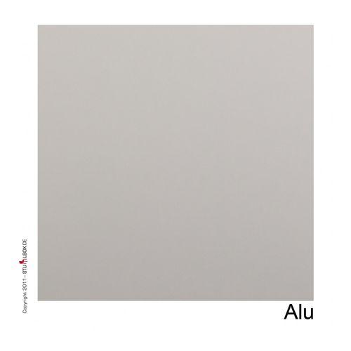 Tischplatte Melamin Alumium - 1