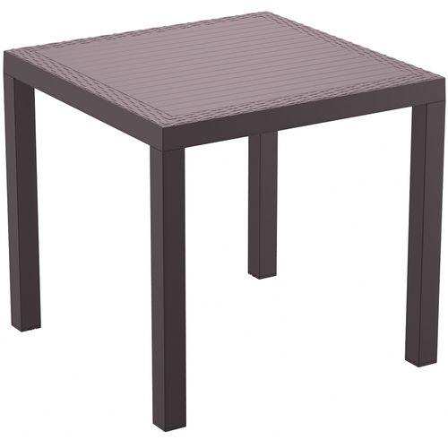 Tisch Orlando 80, dunkelgrau - 1