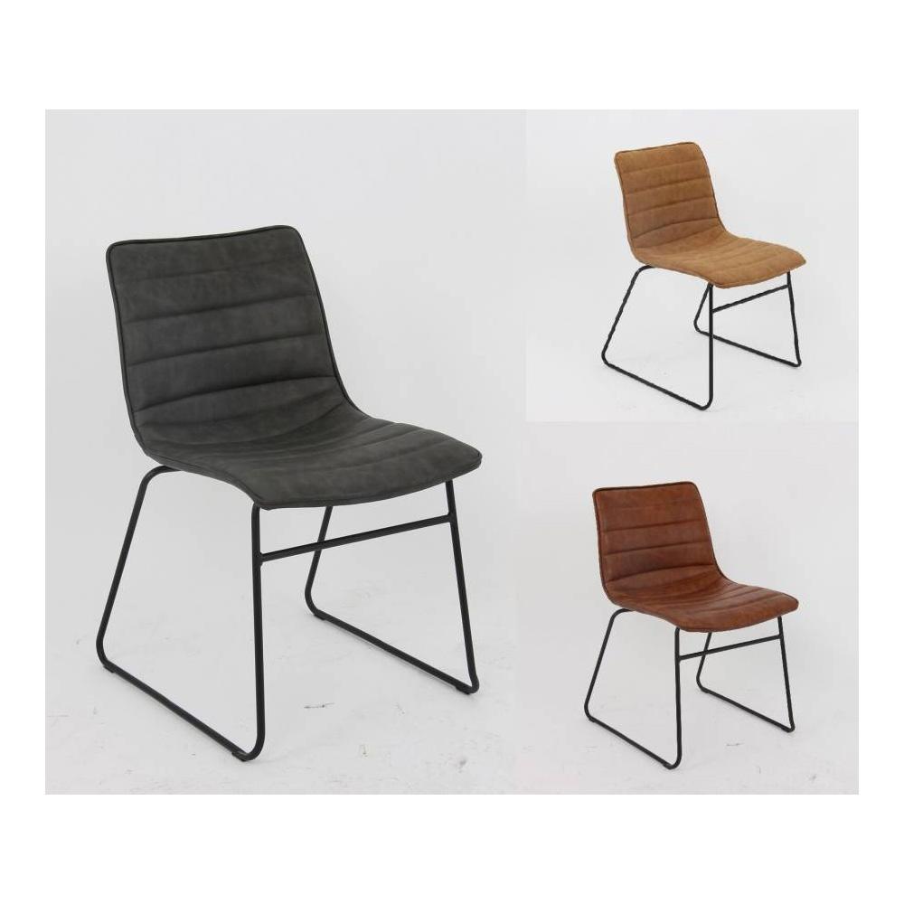 Gastronomie Stuhl RETRO mit Metallfüßen - 3