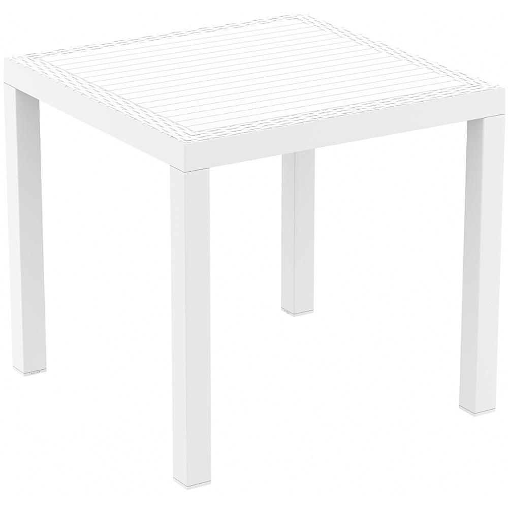 Tisch Orlando 80, dunkelgrau - 2